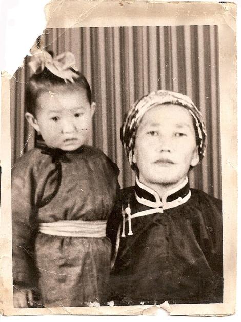 Chimid Baljin and Bayarsanaa Sodnom