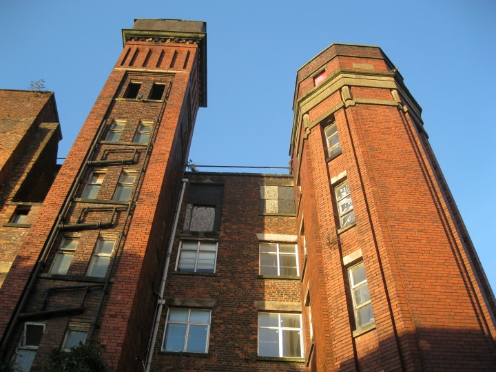 Islington Mill in Salford, 2011