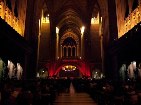 Liverpool Biennial 2012 Rhys Chatham Liverpool Cathedral
